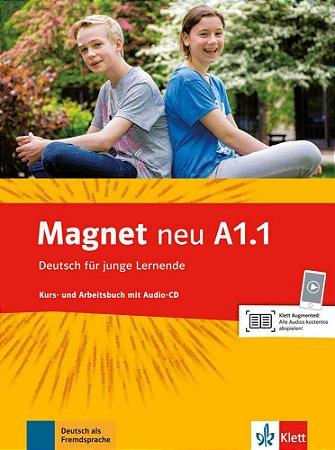 Magnet neu A1/1 - Kursbuch und Arbeitsbuch mit Audio-CD