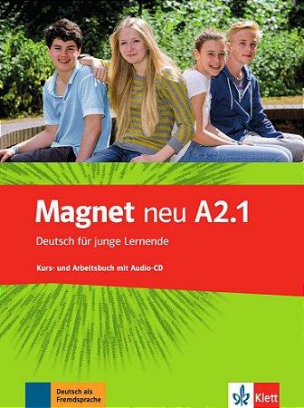 Magnet neu A2/1 - Kursbuch und Arbeitsbuch mit Audio-CD