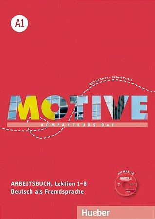 Motive A1, Lektion 1-8 - Arbeitsbuch mit MP3-Audio-CD
