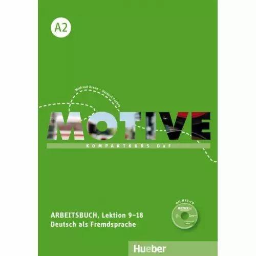 Motive A2, Lektion 9-18 - Arbeitsbuch mit MP3-Audio-CD