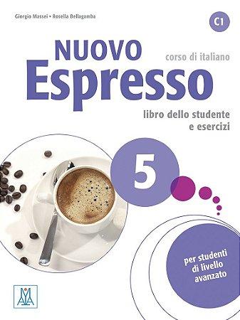 Nuovo Espresso 5 - Libro dello studente e esercizi + CD audio - C1