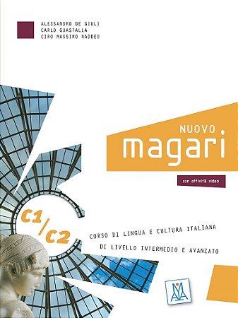 Nuovo Magari C1/C2 - Libro dello studente e esercizi + CD Audio