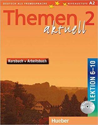 Themen aktuell 2, Kursbuch+Arbeitsbuch, Lek. 6-10 + Audio-CD (VERSAO SEMESTRAL PARTE 2)