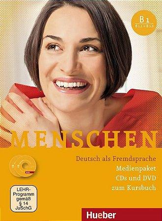 Menschen B1 Medienpaket (SOMENTE AUDIO-CDs e DVD DO PROFESSOR)
