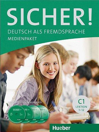 Sicher C1 Medienpaket (SOMENTE AUDIO-CDs e DVD DO PROFESSOR)