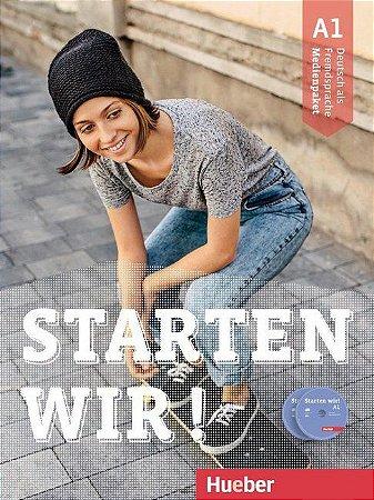 Starten wir! A1 - Medienpaket (SOMENTE AUDIO-CDs e DVD DO PROFESSOR)