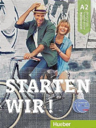 Starten wir! A2 - Medienpaket (SOMENTE AUDIO-CDs e DVD DO PROFESSOR)