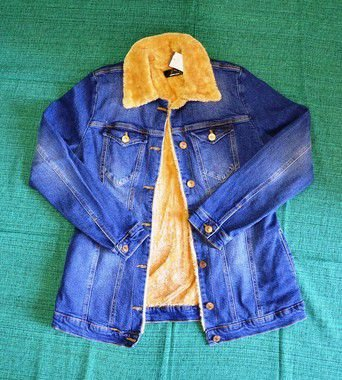 Jaqueta jeans forrada