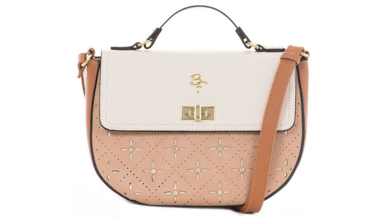 Bolsa rafitthy be forever - st  tropwz creme/nude