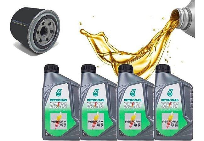 Soul 1.6 óleo e filtro