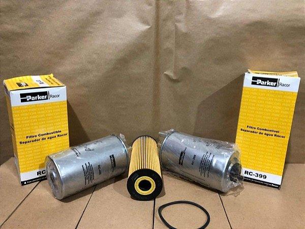 Kyron/actyon  diesel 2.0 óleo e filtro