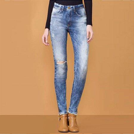 Calça jeans skinny flat belly lez a lez