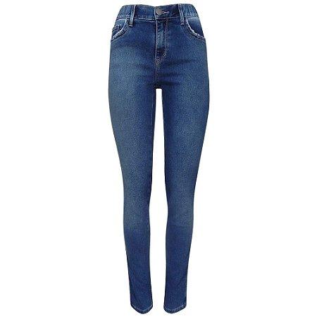 Calça jeans skinny cós com elástico scalon by ana botafogo