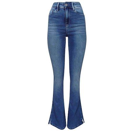 Calça jeans boot cut barbara scalon