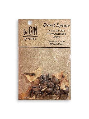 Sache Coconut Espresso - 7 gr Begin Spices - Preparo Gin Tônica