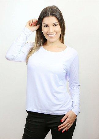 Blusa feminina branca GG