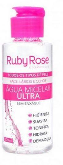 Água Micelar Ultra 120ml - Ruby Rose