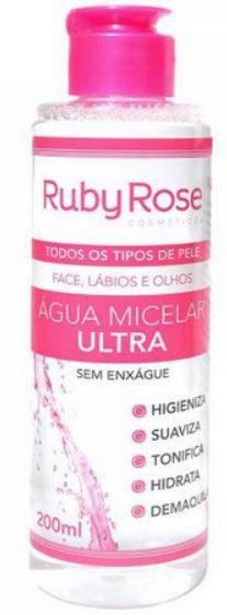 Água Micelar Ultra 200ml - Ruby Rose