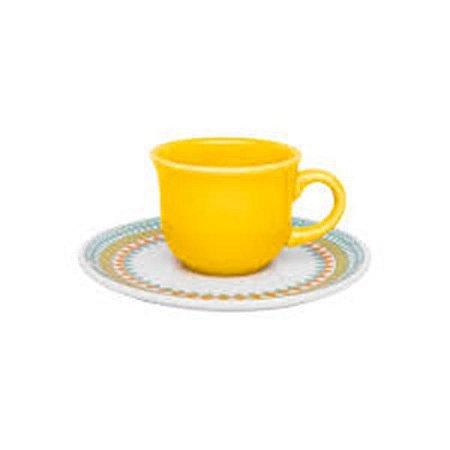 Conjunto de Café 12pçs Floreal Birlo