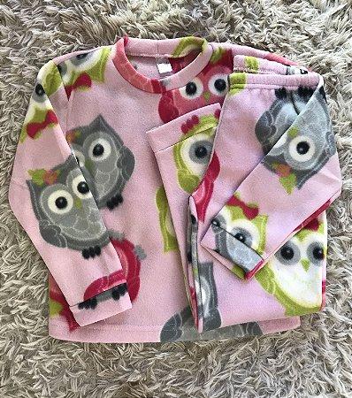 Pijama Soft 2 peças Tamanho 8