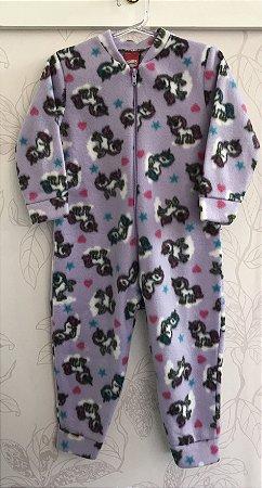 Pijama Macacão Soft Tamanho 2