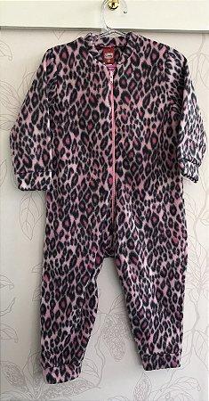 Pijama Macacão Soft Tamanho 3