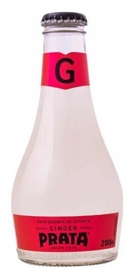 Água Tônica Ginger - 200ml Prata