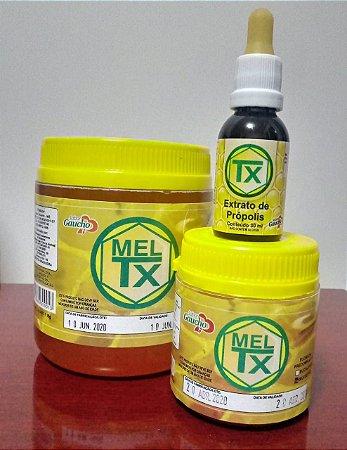 Kit Mel 1kg + Extrato de Própolis 30ml TX