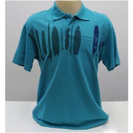 Camisa Polo Malha Piquet Museum Manga Curta Nicoboco 61277