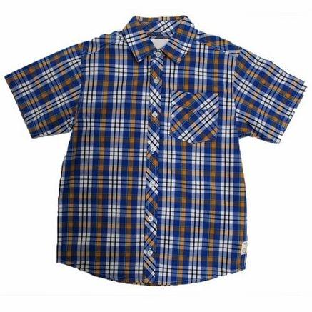 Camisa Xadrez Manga Curta Milon 4983