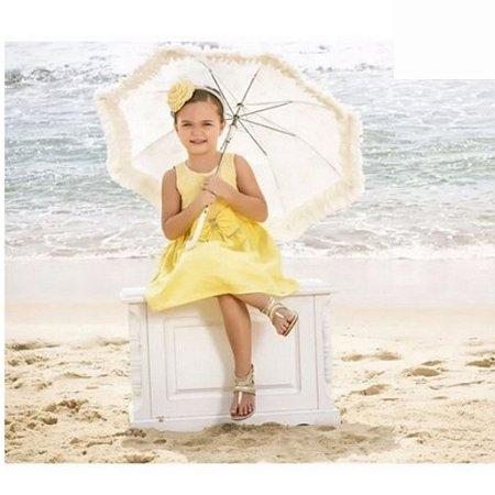 Vestido de Festa Rendado com Top e Strass Paraiso Moda Bebe 018.6012