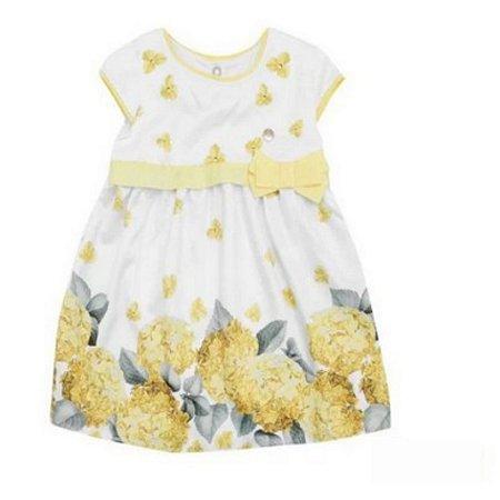 Vestido Floral Floral Amarelo Milon 11700
