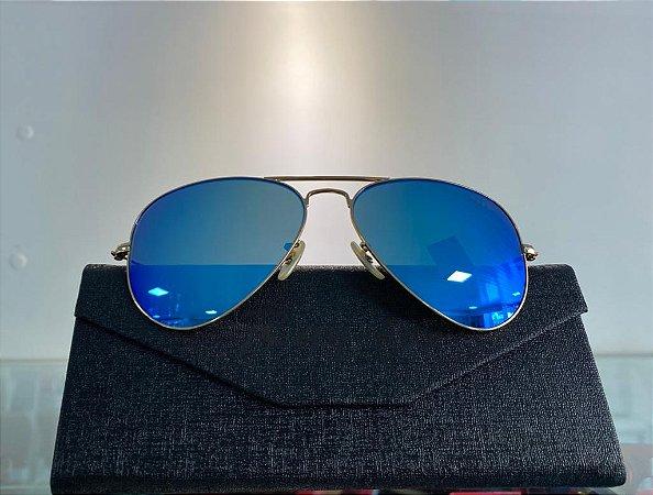 Óculos Solar Aviador Espelhado Ray-Fer