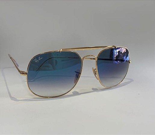 Óculos Solar Ray-Ban semi-espelhado
