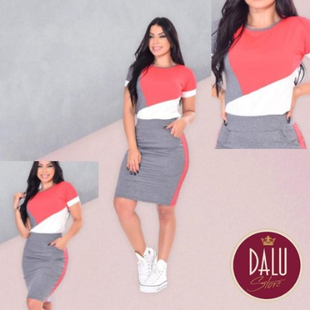 Conjunto 3 cores - Dalu