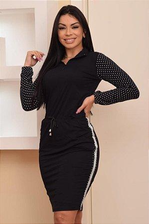 Vestido M/L Poa- Dalu Store