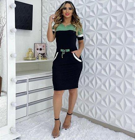 Vestido aro V - Dalu Store