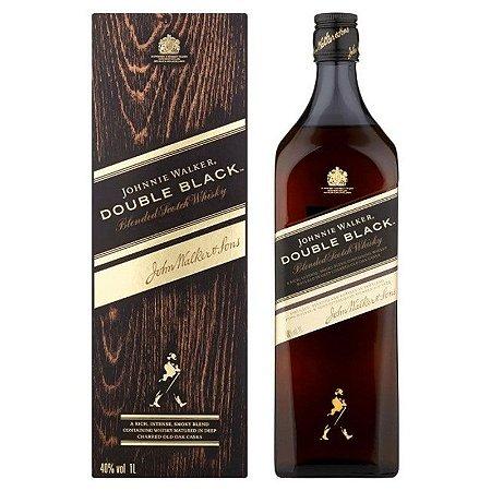 WHISKY DOUBLE BLACK JOHNNIE WALKER 1L