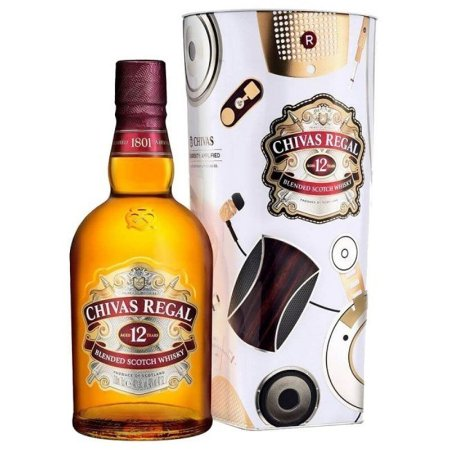 WHISKY 12 ANOS CHIVAS REGAL 1L
