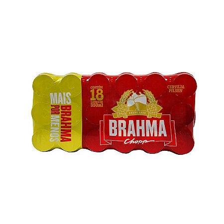 CERVEJA BRAHMA LATA 350ML FARDO COM 18 UN