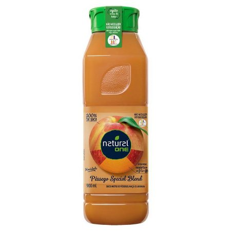 SUCO NATURAL ONE PESSEGO 900 ML