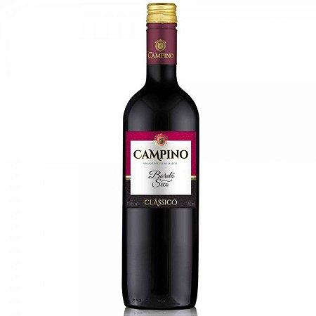 VINHO TINTO SECO BORDO CLASSICO CAMPINO 1,5L