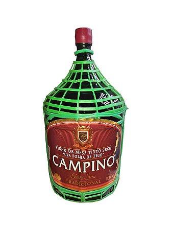 VINHO TINTO SECO CAMPINO GARRAFAO 4,5L