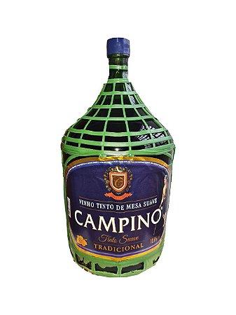 VINHO TINTO SUAVE CAMPINO GARRAFAO 4,5L