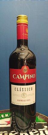 VINHO TINTO SUAVE CLASSICO CAMPINO 750ML