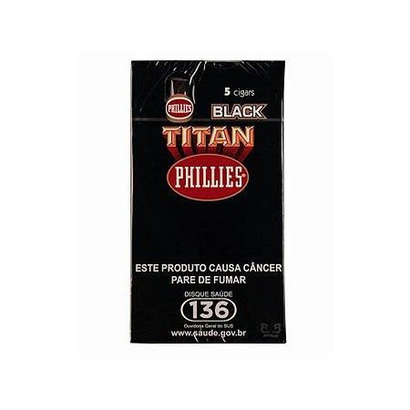 CHARUTO TITAN BLACK C/ 5 UN