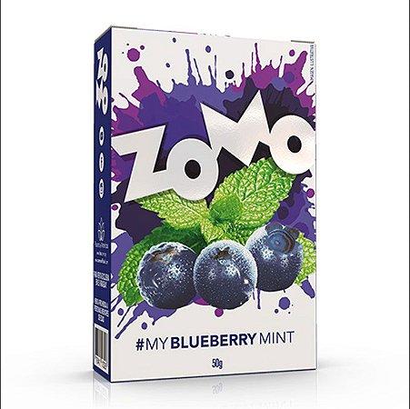 FUMO PARA NARGUILE ZOMO BLUEBERRY MINT