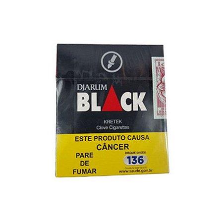 CIGARRO BLACK DJARUM CRAVO