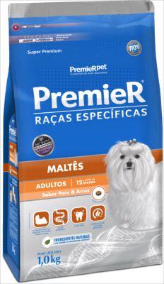 Ração Premier RE Cães Adultos Maltês 1 Kg