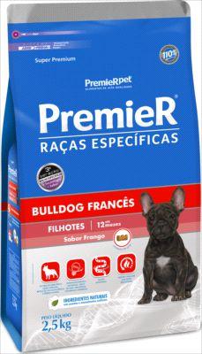 Premier Pet BullDog Cães filhotes sabor frango 2,5 Kg